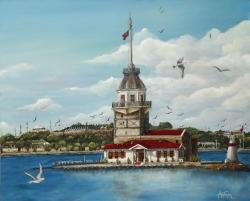 Kız Kulesi   70 x 85 cm