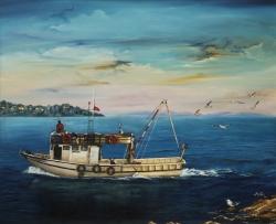 Balıkçı  90 x 110 cm