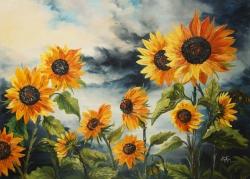 Güneş Sevdalıları  90 x 125 cm