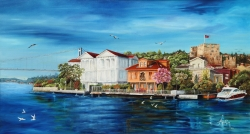 Anadolu Hisarı  60 x 110 cm